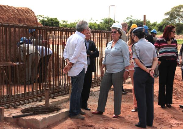 Governadora garantiu que a obra estará totalmente concluída até 30 de maio e que o acesso Norte já estará trafegável até o fim de abril.