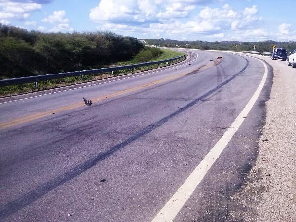 """A """"Curva da Maniçoba"""" é famosa por já ter provocado vários acidentes."""