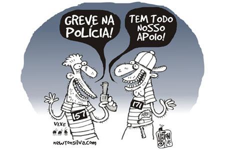 Resultado de imagem para greve de policiais