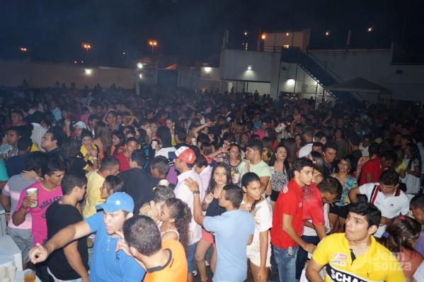 A festa contou com jovens de Jucurutu e toda região.