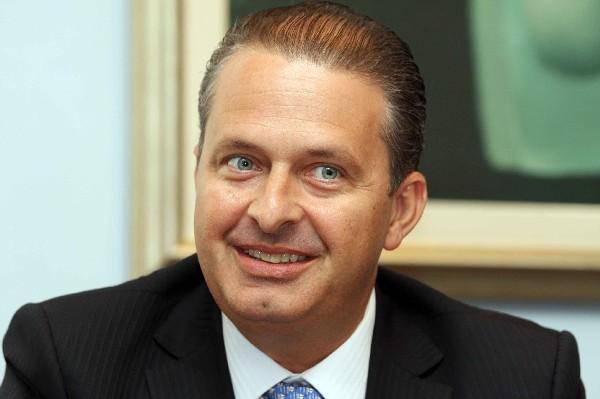 Eduardo Campos, pré-candidato à Presidência da República.