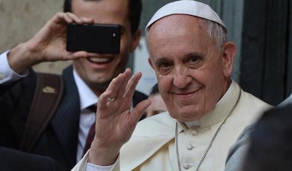Papa Francisco se sentiu incomodado por brasileiros.