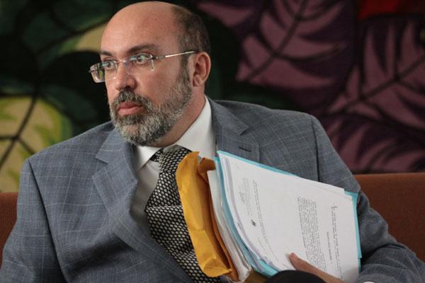 Procurador-geral do Estado, Miguel Josino, segue internado no Hospital do Coração.