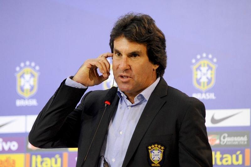 Rodrigo Paiva, assessor de imprensa da CBF, foi suspenso por um jogo.
