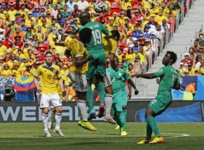Ontem (19), a seleção da Colômbia venceu a Costa do Marfim, em Brasília, por 2 a 1.