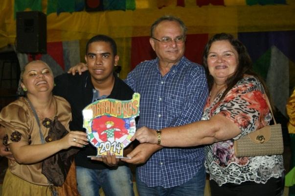 """Escola Municipal """"Professora Trindade Campelo"""" venceu o concurso escolar no Forronovos."""