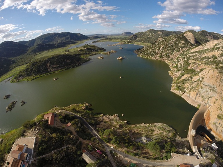 Gargalheiras e outros açudes da região encontram-se com capacidade mínima d'água (Foto: ProFilme)