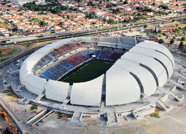 O estágio Arena das Dunas fora construído em Natal, capital do Estado.