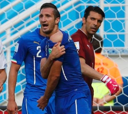 O italiano diz que não guarda nenhum sentimento de vingança ou raiva pelo adversário uruguaio.