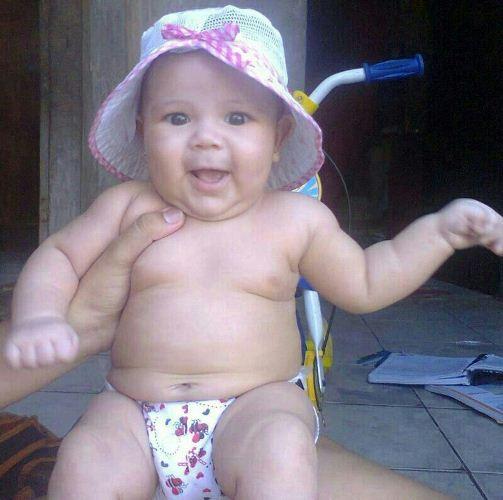 Gabriele Trescelino, 5 meses, está desaparecida desde sábado (14) em Fortaleza.