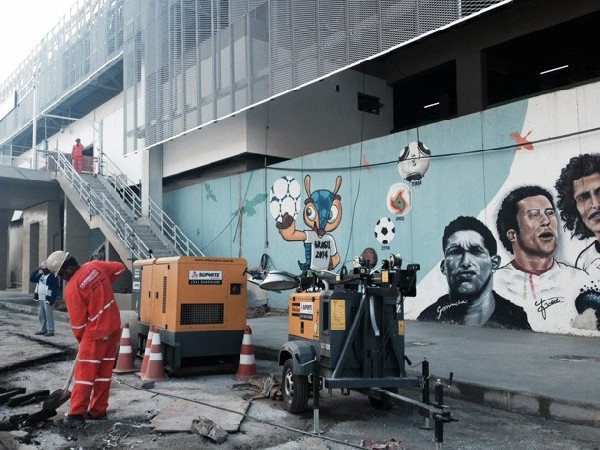 Projeto no Rio de Janeiro ainda passava por obras no início de junho.