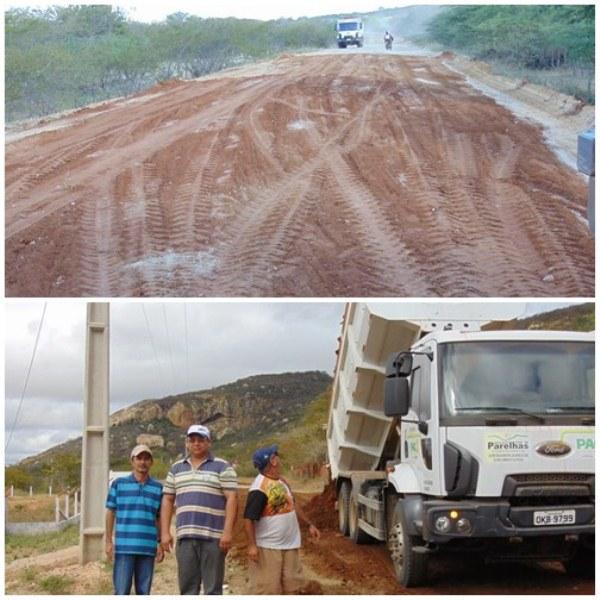 A recuperação do trecho vem se dando com êxito (Foto: Blog Marcos Dantas).