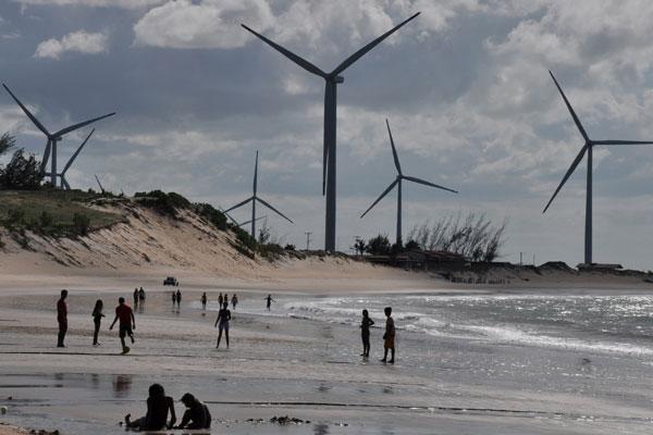 Parque eólico no litoral do RN: setor puxa expansão renovável (Foto: Adriano Abreu).