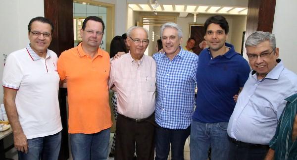 A parceria entre Geraldo e Carlson Gomes ao candidato ao Governo do RN, Henrique Alves, está definida para essas eleições.