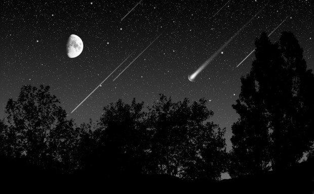 Fenômeno anual poderá ser visto até quarta-feira (13). Foto: internet.