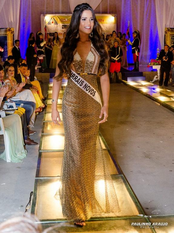 Samara Dantas eleva mais uma vez o nome de C. Novos ao topo da beleza seridoense. (Foto: