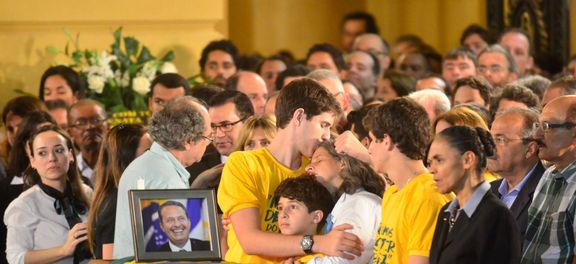 Missa foi celebrada pelo diácono Aerton Carvalho.