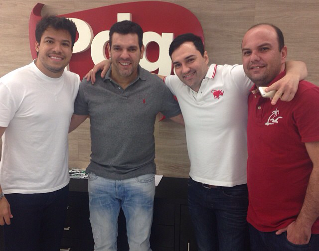 Giullian Monte, Alex Padang, Léo Pegação e Nildinho DDB, nesta terça na Padang Promoções.