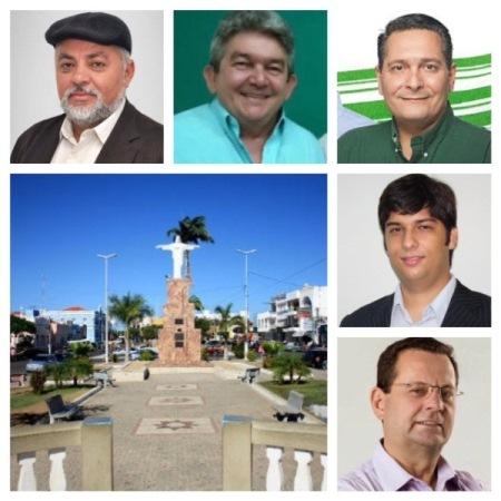 Moacir, Medeiros, Ezequiel, Odon e Carlson representam C. Novos nas eleições deste ano.