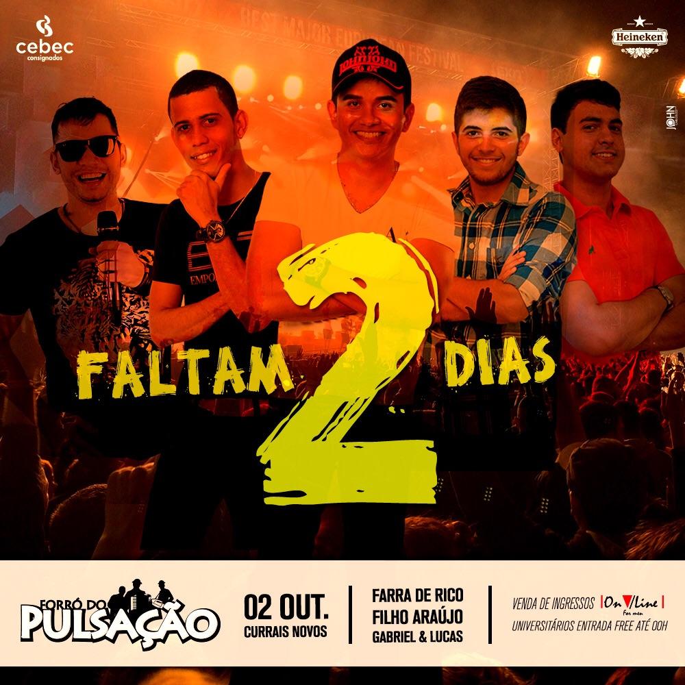 Farra de Rico não realiza show em Currais Novos há quase um ano.