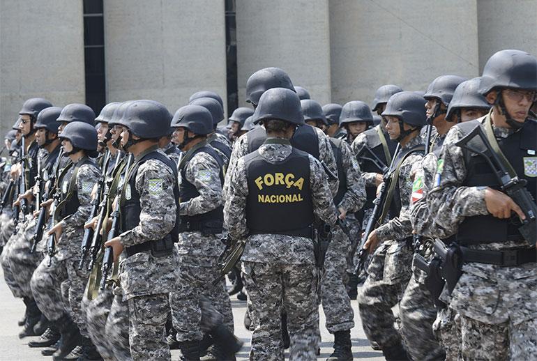 Força Nacional fica mais 180 dias no RN