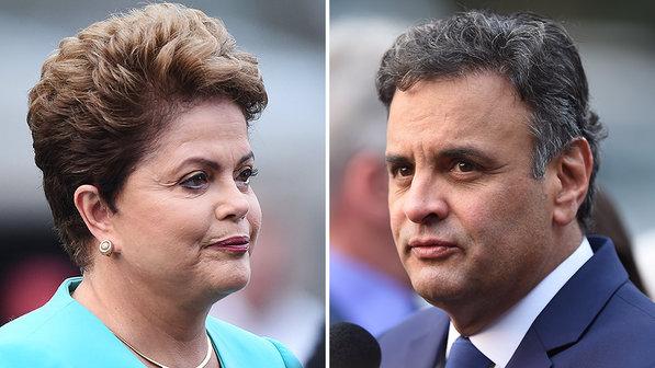 Candidatos Dilma Rousseff (PT) e Aécio Neves (PSDB) se confrontarão pela última vez na noite desta sexta-feira antes da eleição de domingo.