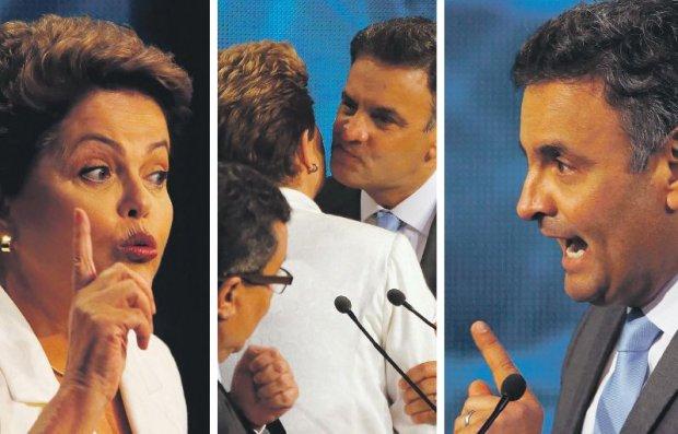 Se o debate continuar com a sequencia de acusações entre eles, o povo continuará sem conhecer as propostas dos dois candidatos.