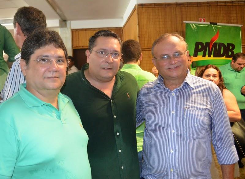 Na foto, Zé Lins, Ezequiel e Vilton.