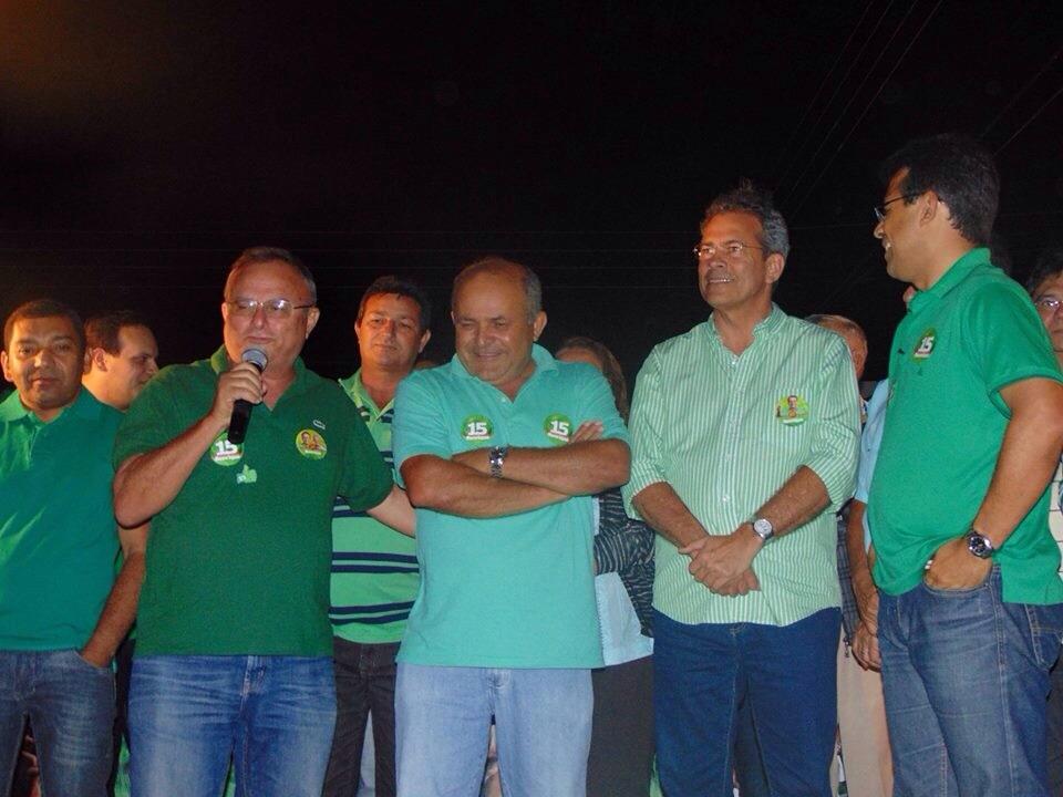 Mobilização da última quarta-feira em Lagoa Nova, comandada por Luciano Santos.