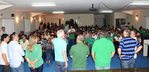 Prefeitos e lideranças políticas do Seridó estiveram presentes no encontro.