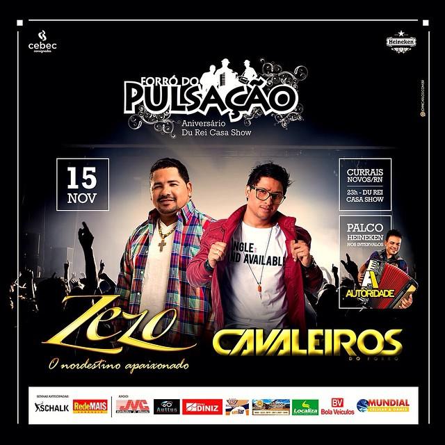 A festa reúne os dois maiores nomes da música potiguar, reconhecidos em todo o Brasil.