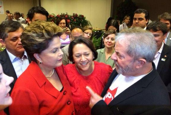 Fátima terá encontro com Lula e Dilma
