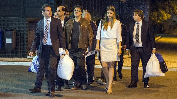 Executivos presos e já liberados pela Polícia Federal.