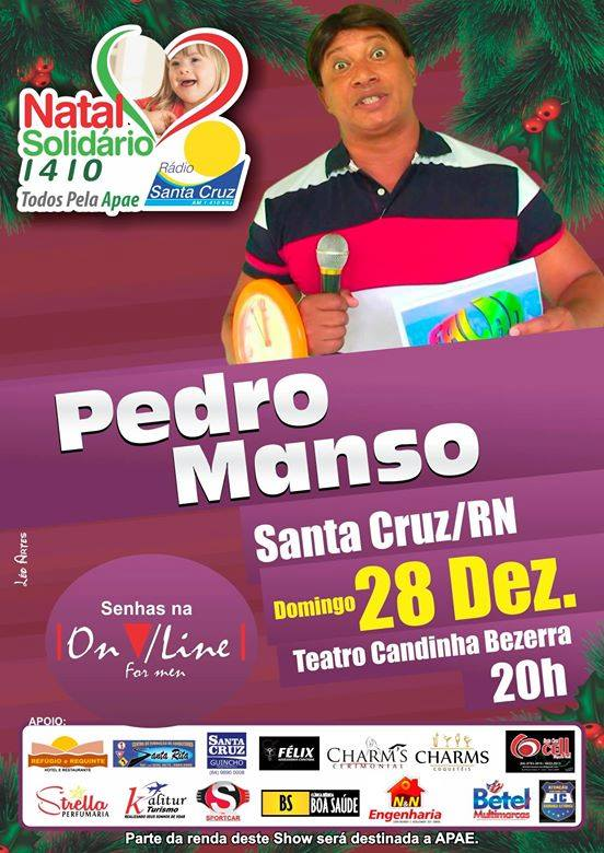 O evento acontece no Teatro Candinha Bezerra.