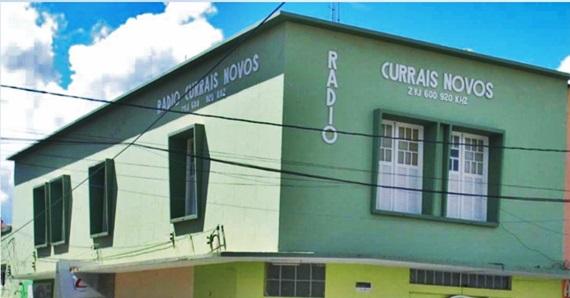 Prédio onde está instalada a Rádio Currais Novos AM.