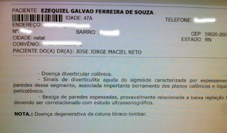 Por motivo de saúde, Zé Lins represnetou Ezequiel durante a assinatura da ordem de serviço da adutora C.Novos e Acari.