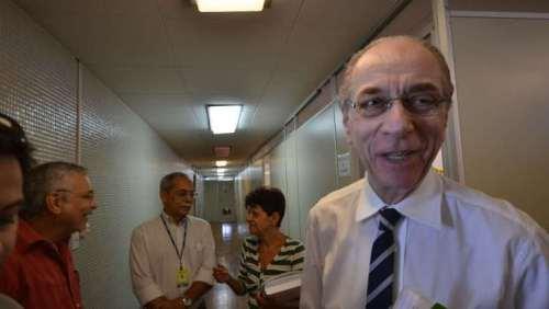 José Ricardo Lagreca de Sales Cabral visitou ontem, mais uma vez, a Secretaria Estadual de Saúde.