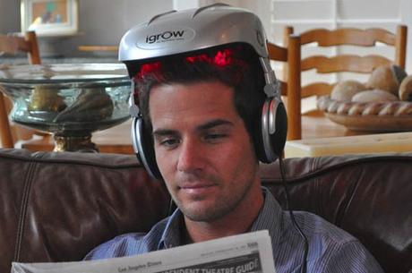 O dispositivo pode ser a salvação para quem está perdendo os cabelos.