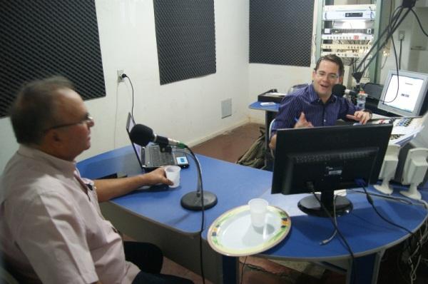 Entrevista ao repórter Ismael Medeiros, Rádio Currais Novos.