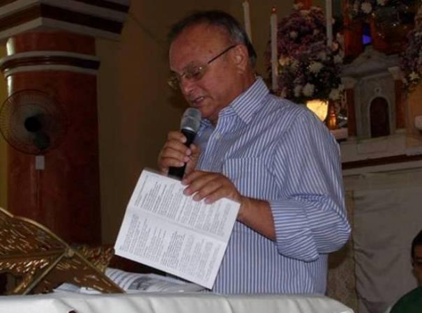Em nome do município, o prefeito Vilton Cunha deu as boas vindas ao novo ao Padre Erivan.
