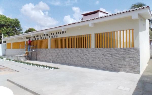 A nova cadeia do município abrigará os presos da antiga cadeia.
