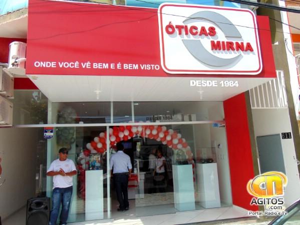A Óticas Mirna está no mercado desde 1984. (Foto: Fátima Souza).