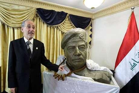 O ex-presidente iraquiano se manteve no poder por 23 anos.