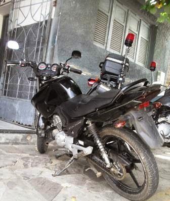 Moto que tinha sido furtada em Currais Novos no início do mês foi recuperada pela Polícia na manhã deste domingo (19)