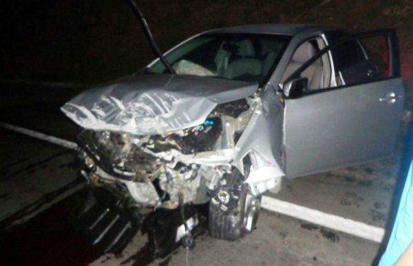 Motorista sai ileso após grave acidente próximo a Currais Novos