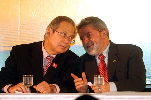 Segundo revista, Dirceu estaria disposto a denunciar o ex-presidente Lula