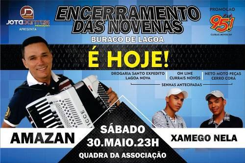 A festa promete movimentar a Serra de Santana.