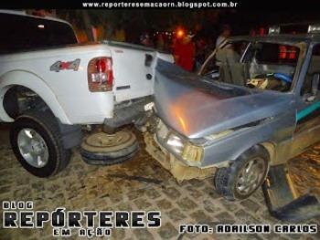 TRÂNSITO: Motorista embriagado provoca acidente em Currais Novos
