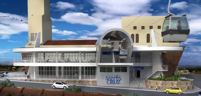 SANTA CRUZ: Governo do Estado emite licença para instalação de teleférico na cidade