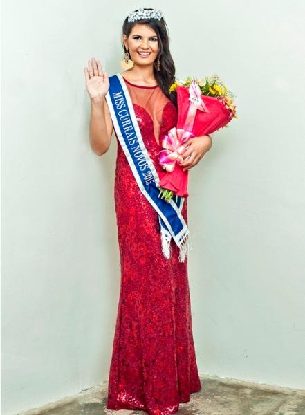Martha Jussara, do Povoado da Cruz, foi eleita Miss Currais Novos 2015